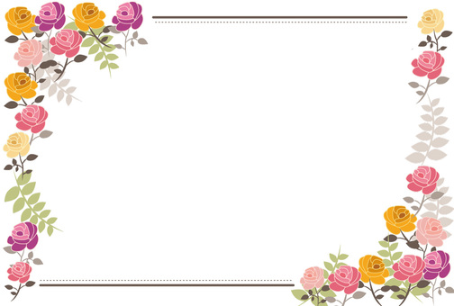 Flower frame part 2