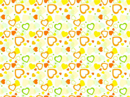 Heart scattering pattern vitamin color