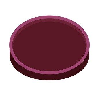 Dish of lacquer ware (2)