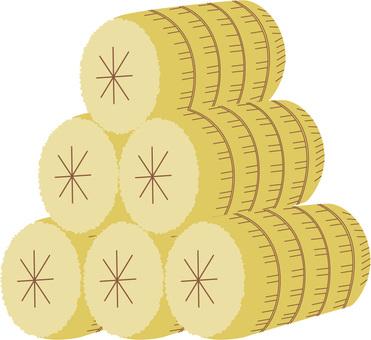 Rice 俵 (六 俵)