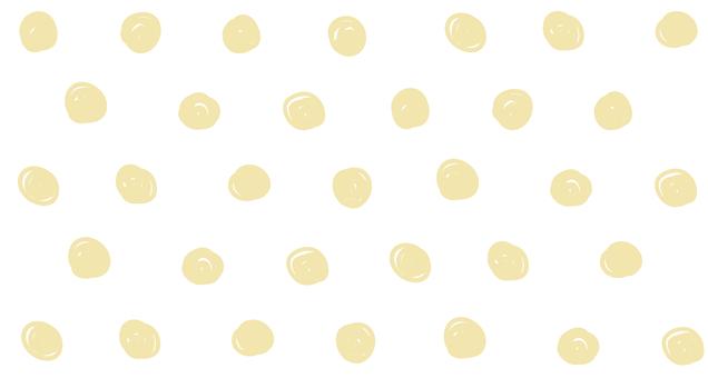 Hand drawn dots (yellow)