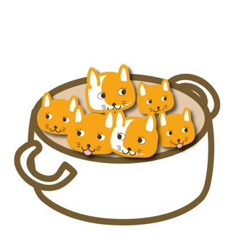 Cat pot