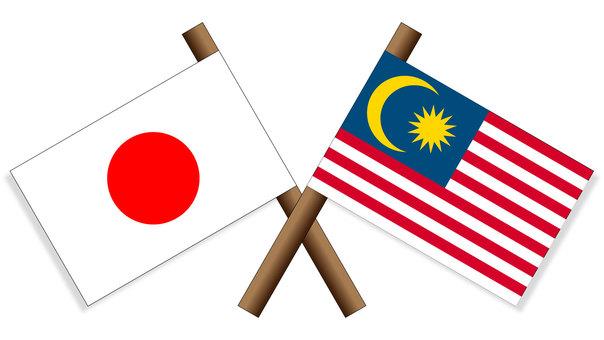 Flag Japan × Malaysia
