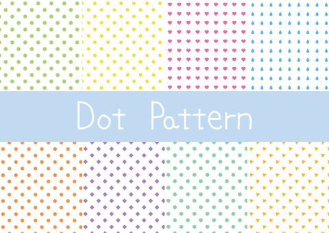 도트 패턴 세트