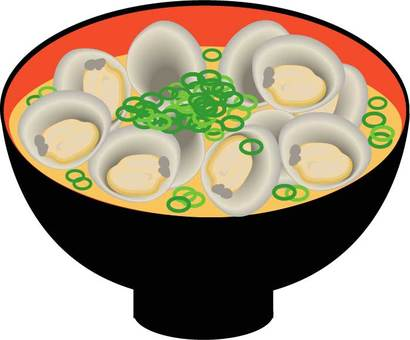 Clams miso soup