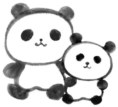 Good friend panda 1