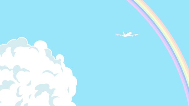 Sky and plane 1