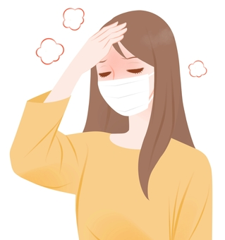Unwell female fever