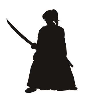 Samurai 3 (Silhouette)
