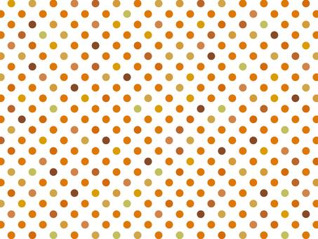 "Polka dots 3 ""Orange"""