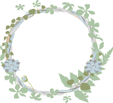 Flower and frame 3