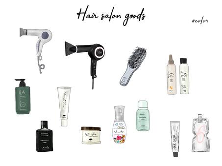 Hair Salon / Hair Makeup Items