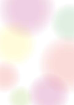 배경 흐림 물방울 핑크 녹색 _A4 ぬりたし