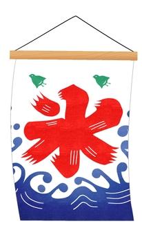 Flag shake ice flag