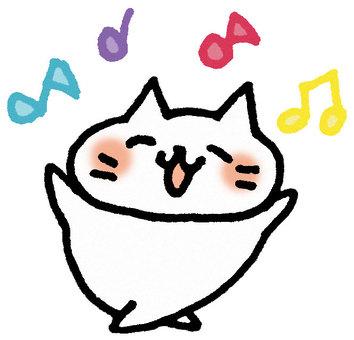 我是一隻快樂的貓