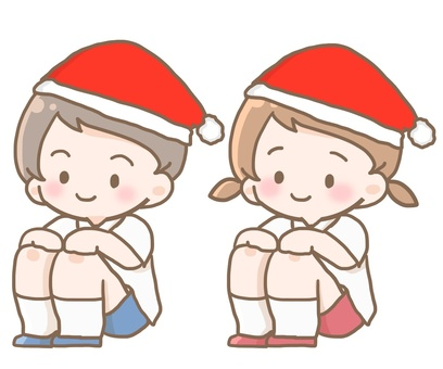 Sports sitting Christmas
