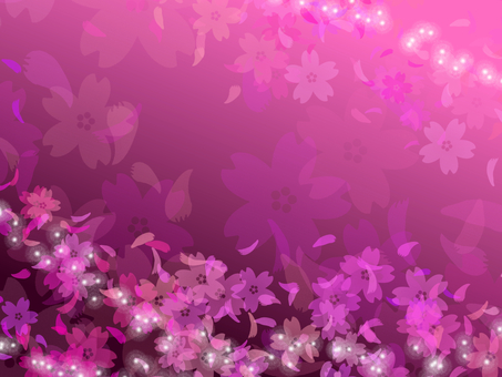 Cherry blossom background pink