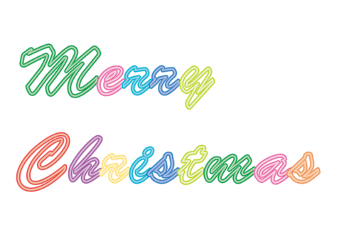 Christmas neon · character (background transparent)