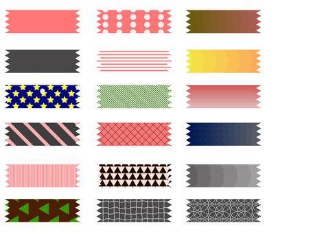 Pattern tape set