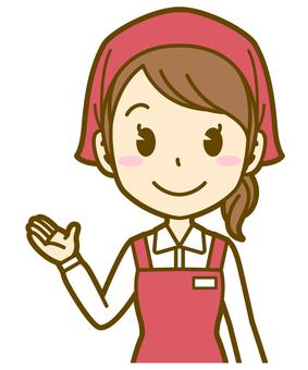 Woman (salesman): B_Guidance 01BS