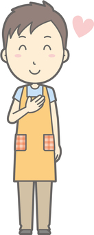 Nursery teacher - like - whole body