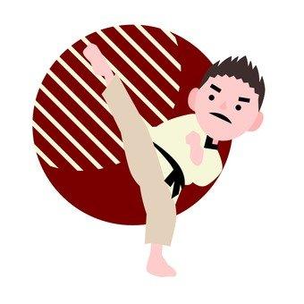Taekwondo men
