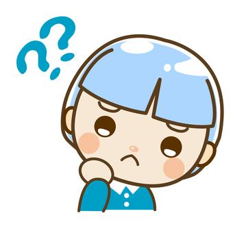 小男孩為什麼?為什麼?