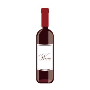 Image of wine bottle / glass bottle