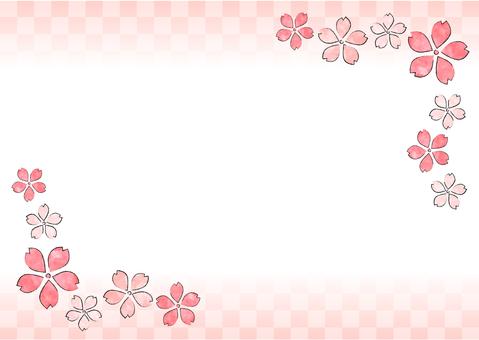 Cherry Blossoms Frame · Spring