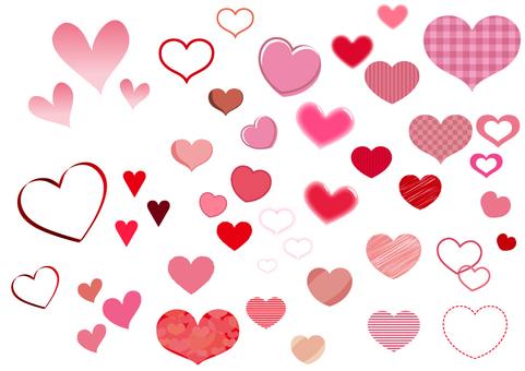 Various hearts ②