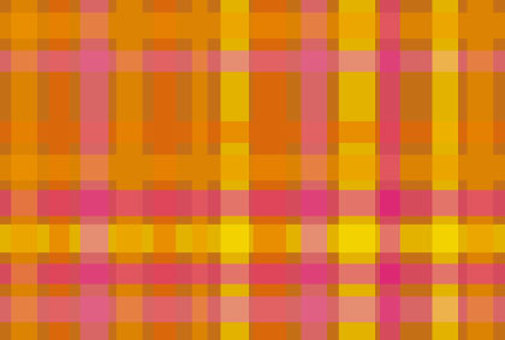 Check pink and yellow cute wallpaper