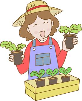 Farmer's lady