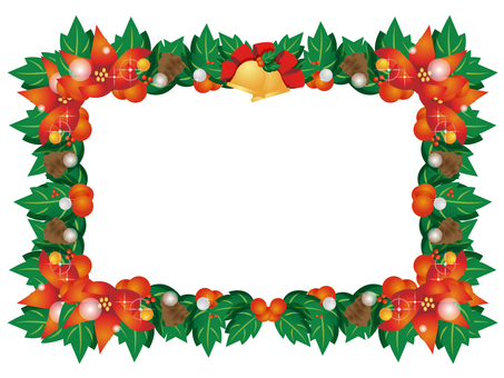 Christmas lease frame