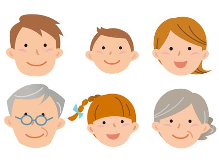 5915.6 Family, face