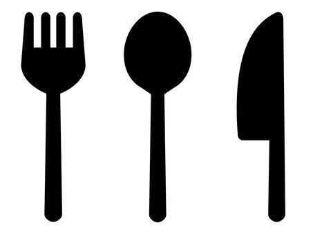 Knife · Spoon · Fork