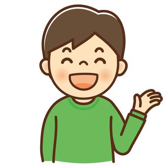 Smile guide boy