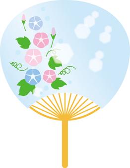 Illustrations free asagao fans