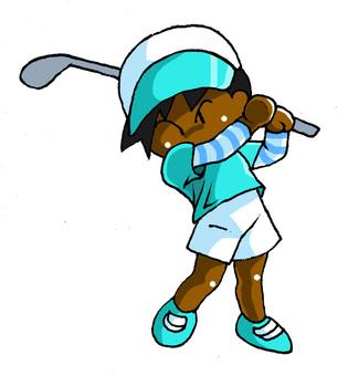 Golf Women's Negro