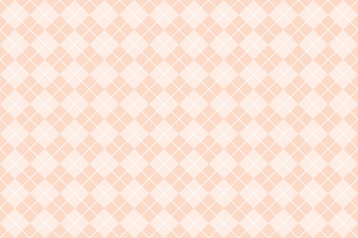 Argyle pattern background orange