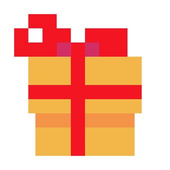 Present box dots