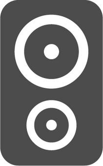 스피커 아이콘 소재