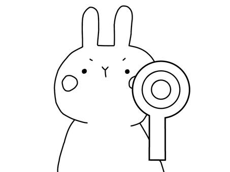 Usagi and circle 1 of 1