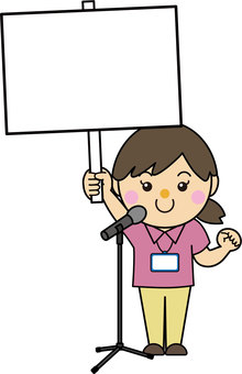 Microphone stand 01_09 (female)