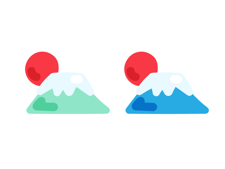 幸運物品_富士山