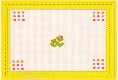 Sashimo style pattern
