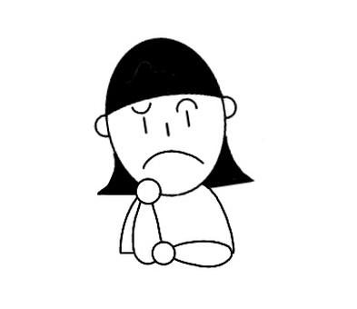 Girl 1 Thinking