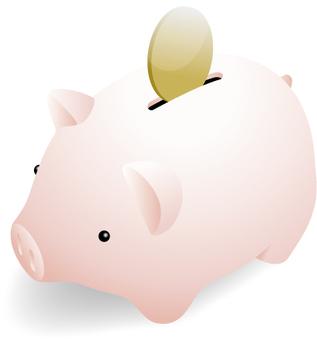 Pig piggy bank 2