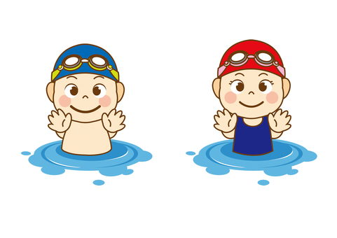 Swimming Kids _ 3