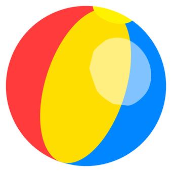 Beach ball (colorful)