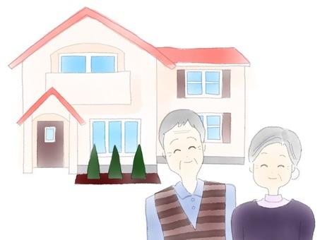 집과 노부부